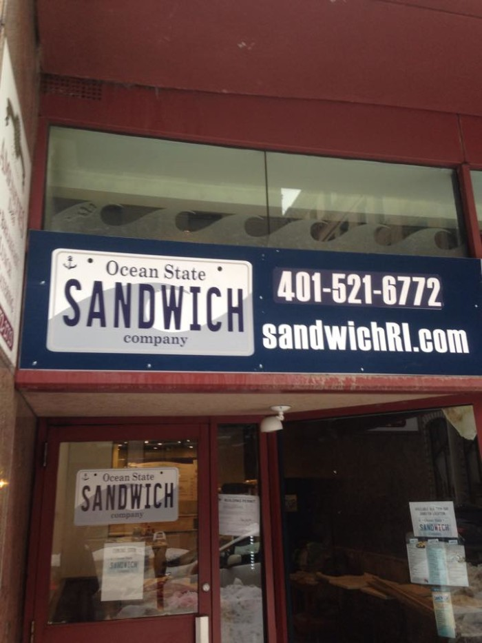 7. Ocean State Sandwich Company, Providence and Johnston