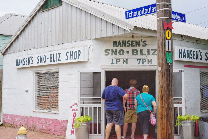 9) Stand In Line for a Hansen's Snowball