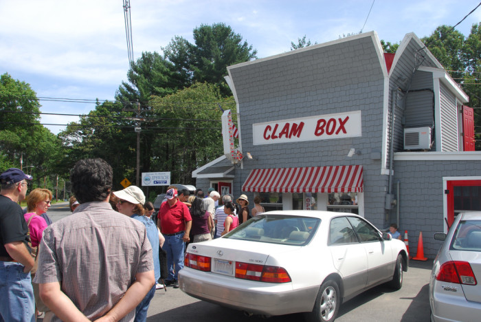 2. When the line at The Clam Box seems never-ending.