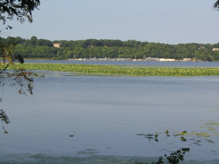10. And to the lowest - the Mississippi River in Lee County.