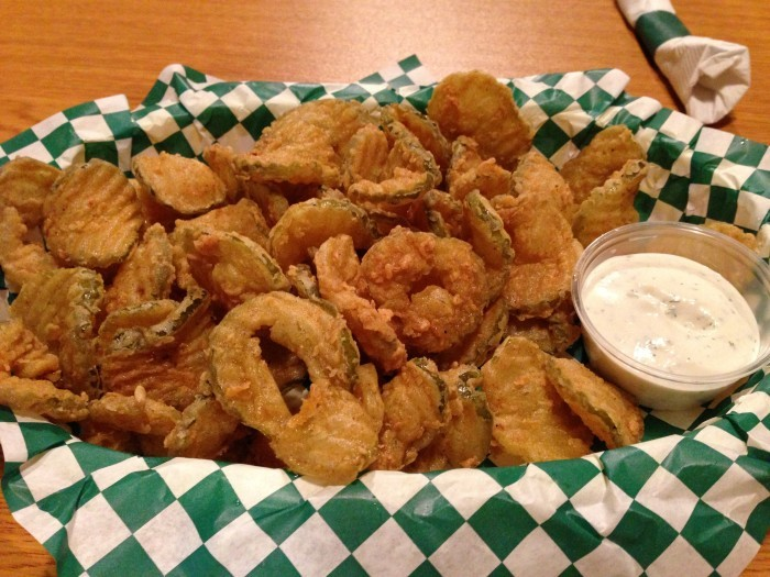11. Fried Pickles
