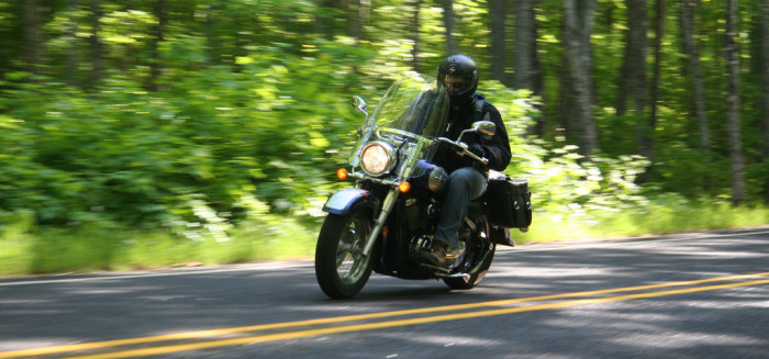 10. The biker