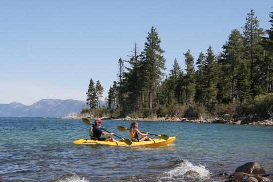 2. Emerald Bay: Kayaking