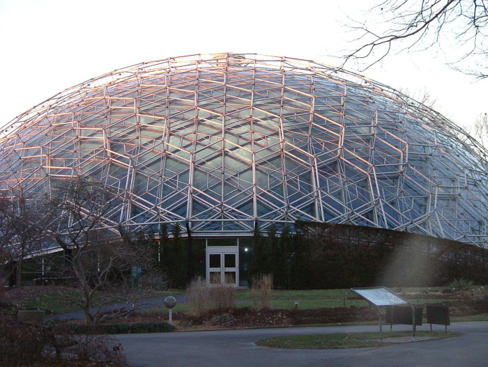 11.The Climatron at Missouri Botanical Gardens