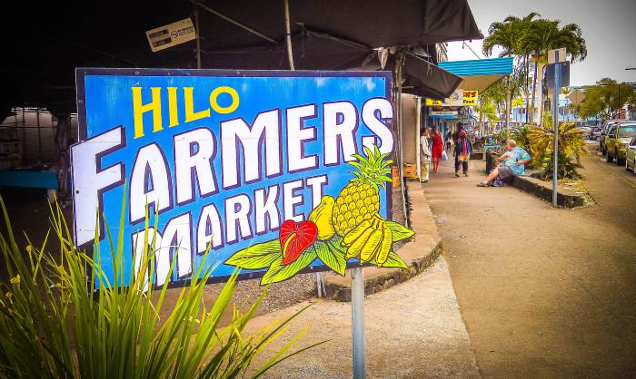11. Visit a local farmer's market.