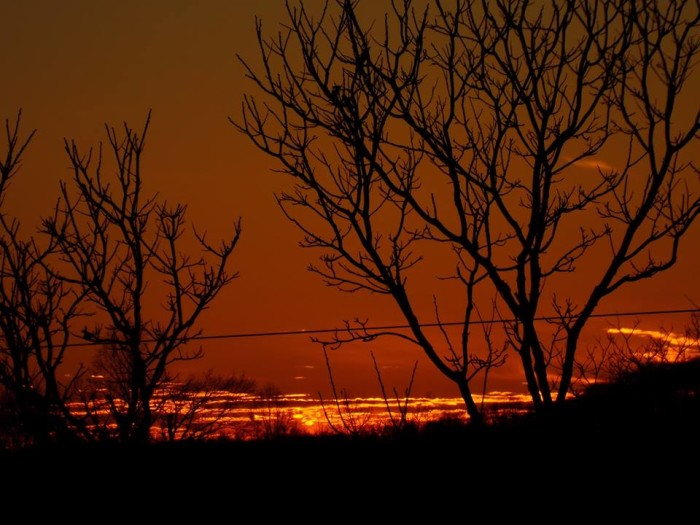 13. A stunning Clay County sunset.
