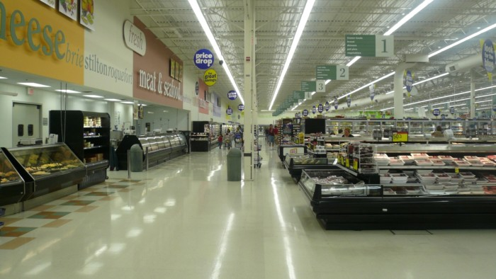 8. You inevitably rush to the nearest Meijer whenever a storm is about to hit to stock up on supplies.