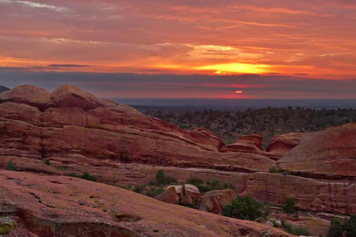 7.) Red Rocks.