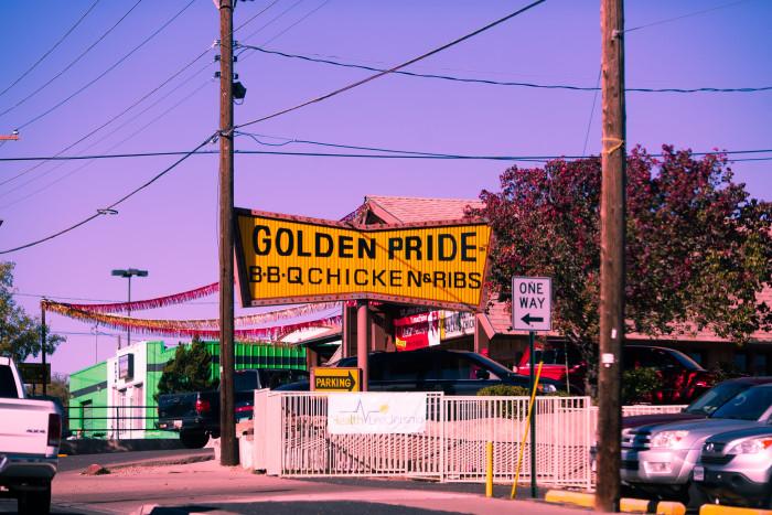 2. Golden Pride BBQ Chicken & Ribs, 1830 Lomas Boulevard NE, Albuquerque