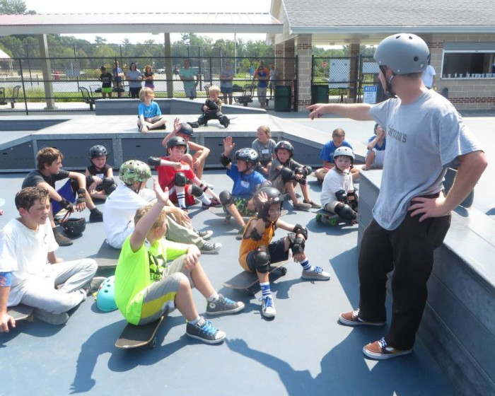 5. The community has tons of events and nice facilities, such as the skate park in Robert E. Lambert park.
