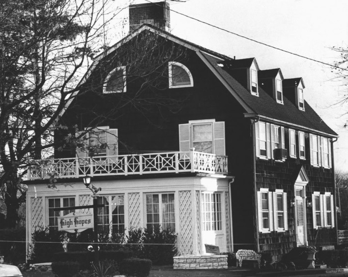 Only a year later, a new family purchased the  Amityville house, quickly regretting their decision and moving out only 28 days later.