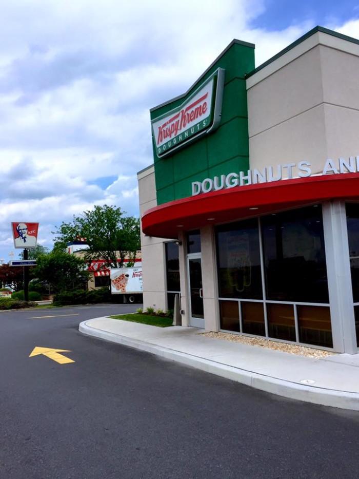 11. Krispy Kreme Doughnuts, New Castle