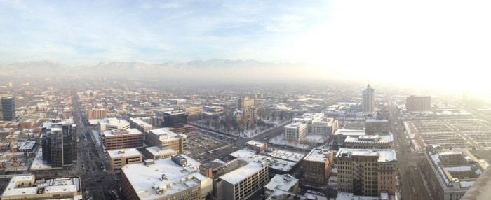 8. The air quality in Utah is the worst in years.