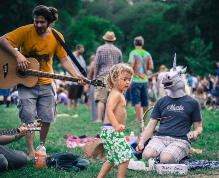 6. Eeyore's Birthday is a fund-raiser to benefit non-profits in Austin. You can find delicious food, activities for all ages, and music all around. Don't forget to wear a costume!