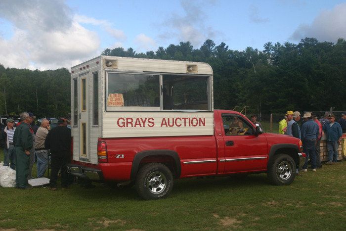 4.  Bid at a country auction.