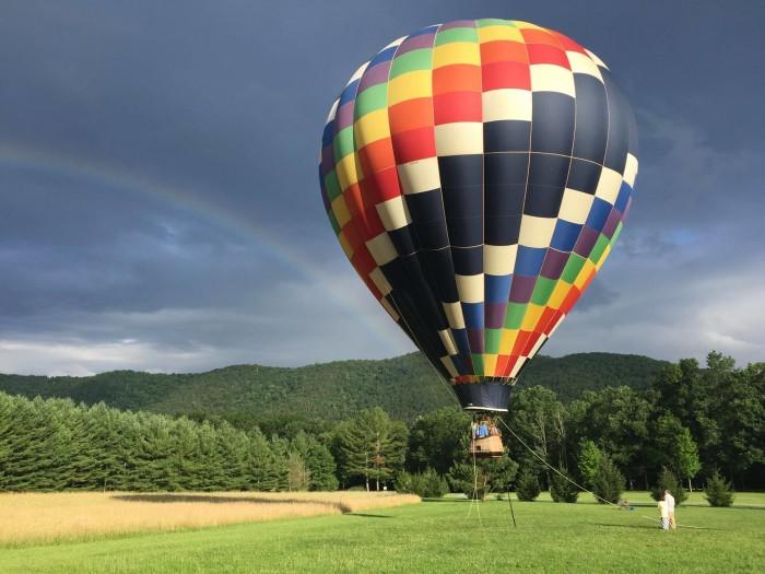 9. Blue Ridge Ballooning