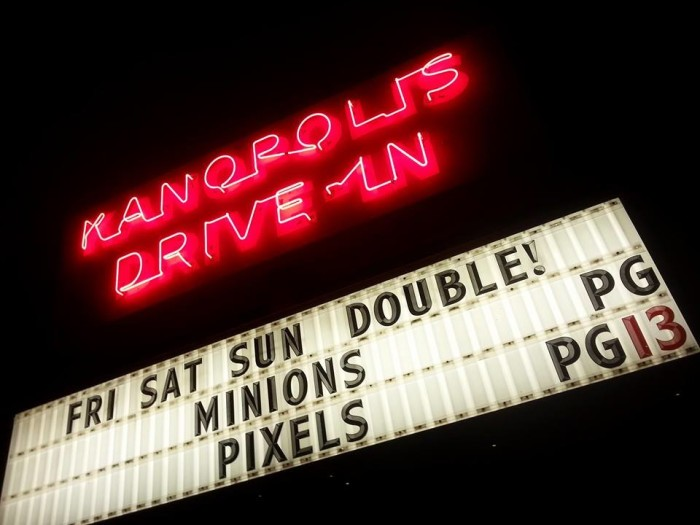 1. Watch a double feature at the drive-in.
