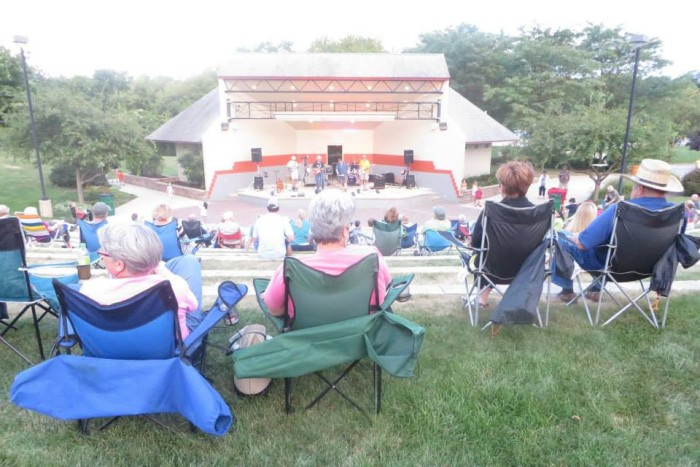 6. Other events frequently take place in West Goshen's other four public parks, such as concerts at the outdoor ampitheatre.