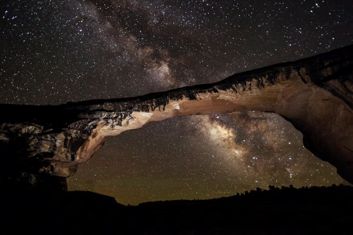 15. Go stargazing at Utah's first International Dark Sky park - Natural Bridges National Monument.