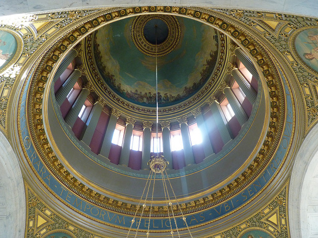 10. Moving away from Newport, we have the current Rhode Island State House in Providence. Built in 1895, the state house offers one of the largest unsupported marble domes in the entire world.