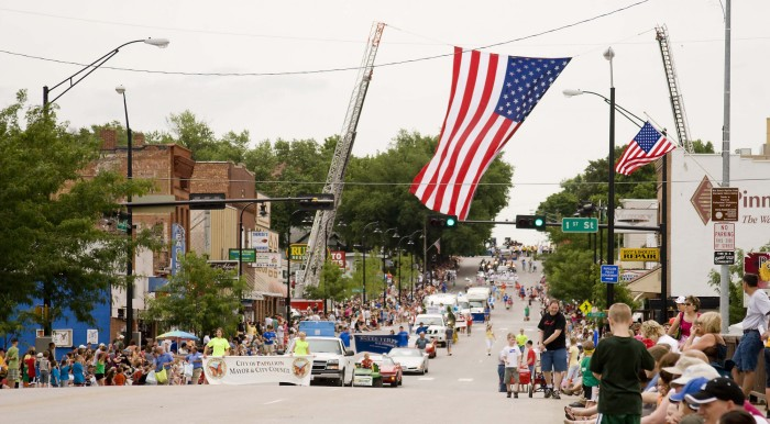 14. The wildly popular (and extremely fun) Papillion Days festival draws a crowd more than double the size of the city's population!