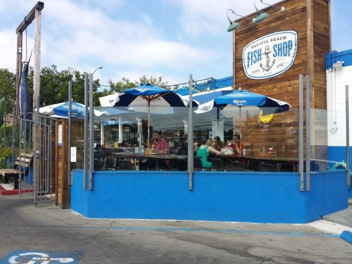8. Pacific Beach Fish Shop