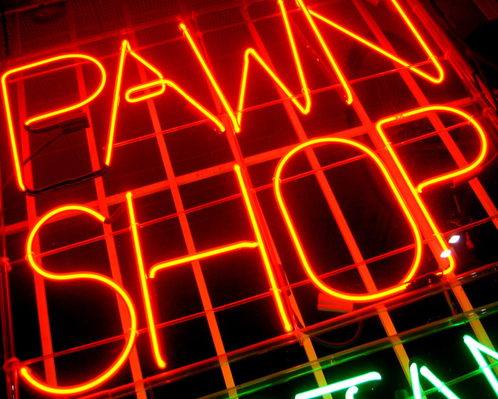 2. Pawnbrokers can't accept your wheelchair or fake leg or arm for payment or pawn.