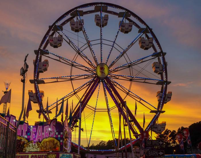 8) County Fair