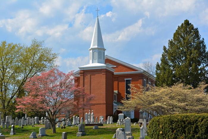 6. White Clay Creek Presbyterian Church, Newark