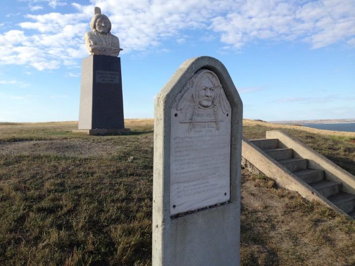 Sitting Bull & Sacagawea Monuments