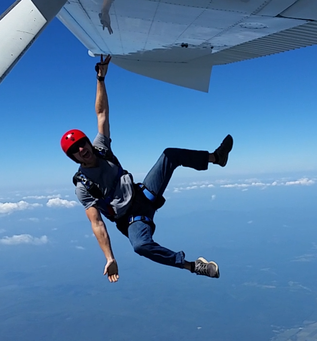 11.  Go skydiving.