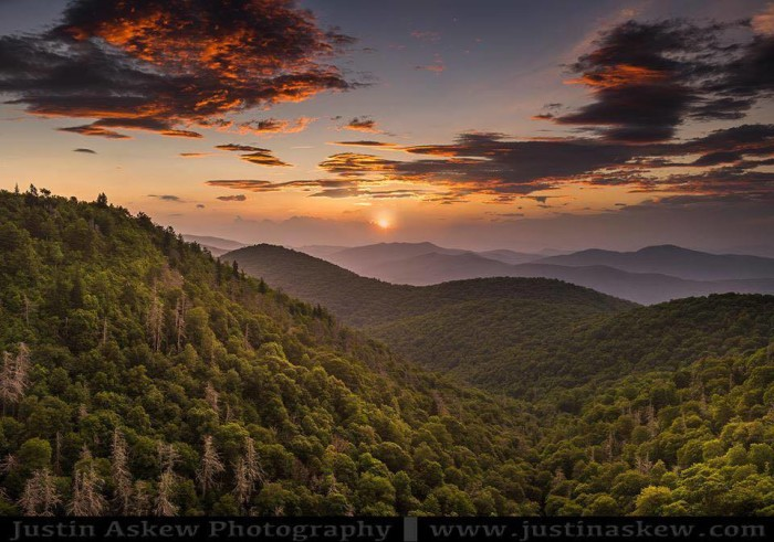 4. The Blue Ridge Mountains are a magical, enchanting place. Not to mention all the hiking and views.