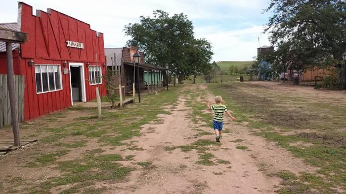 1880 cowboy town