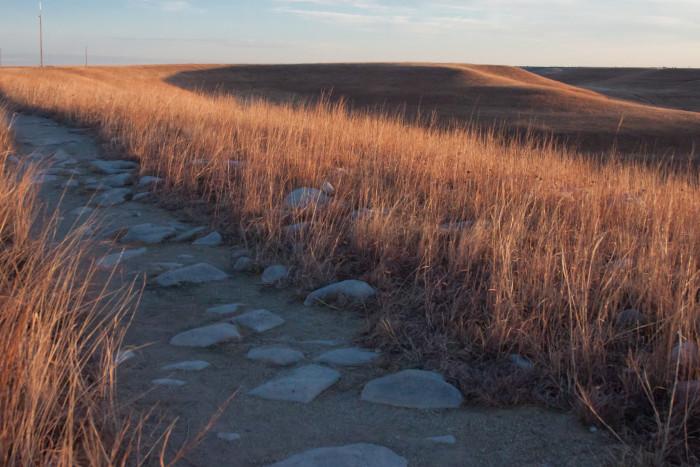 5. Hiking the Konza Prairie...