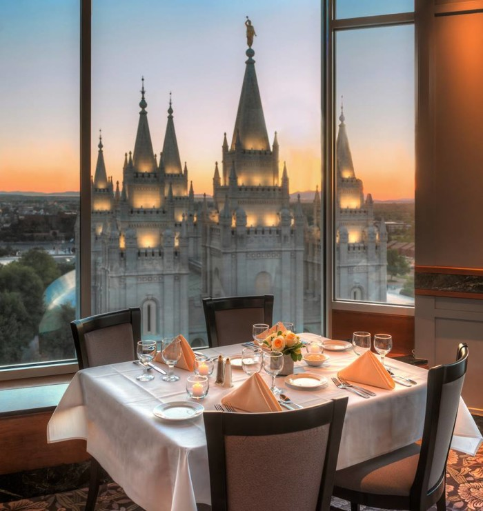 12. The Roof Restaurant, Salt Lake City