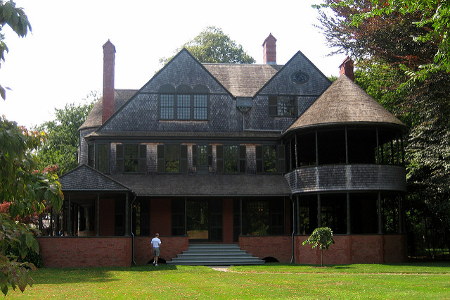 7. Isaac Bell House: This national historic landmark is an architectural gem of Newport.