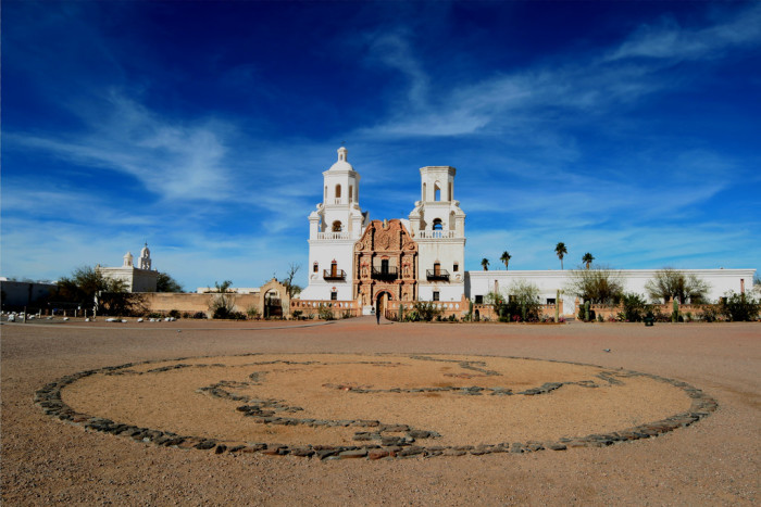 15. Another option is to check out of Arizona's many historic landmarks, such as Tucson's San Xavier del Bac Mission.