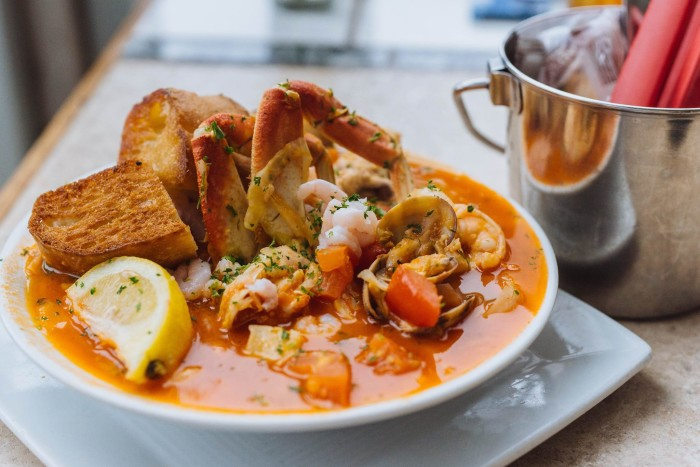 Next, head to the coast for a seafood dinner from Local Ocean Seafoods in Newport.