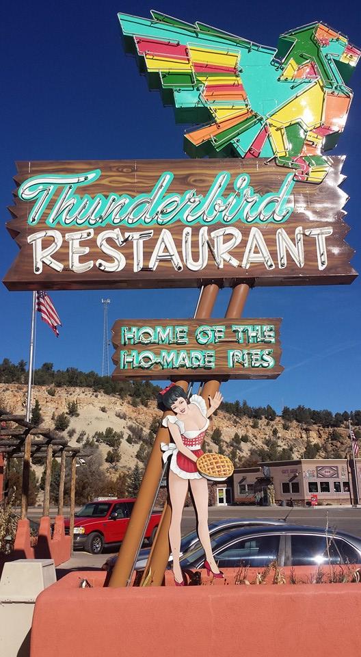 15. Thunderbird Restaurant, Mount Carmel Junction