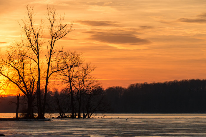 10. End your day watching a gorgeous Maryland sunset in your most favorite spot.