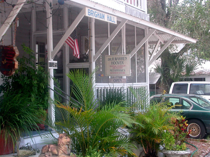 10. The unofficial psychic capital of the world is a little town in Volusia County.