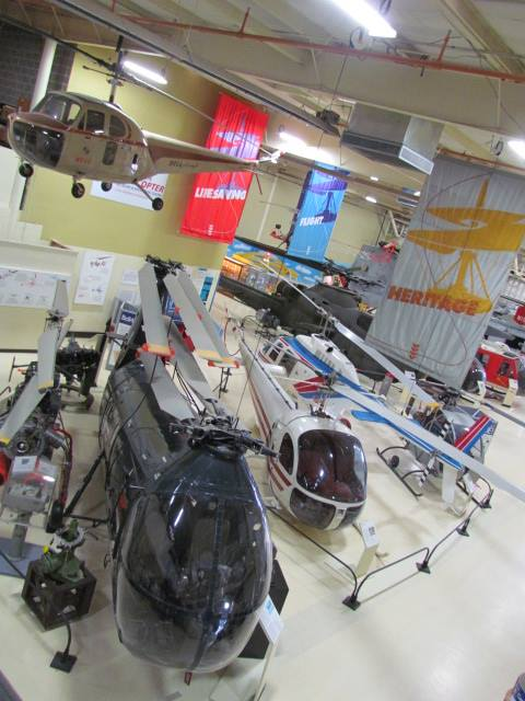 7. The unique and fascinating American Helicopter Museum is located in West Goshen, which has some historic helicopters on display that you can't see anywhere else.