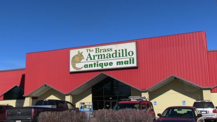 3.) Brass Armadillo Antique Mall (Wheat Ridge)