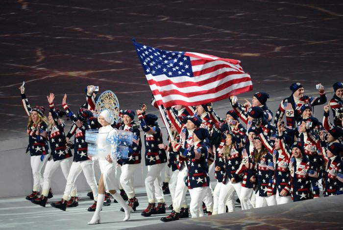 7.  Olympics bound.