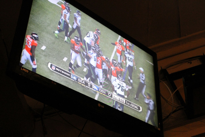 7. If your restaurant has a TV and there is a Broncos...