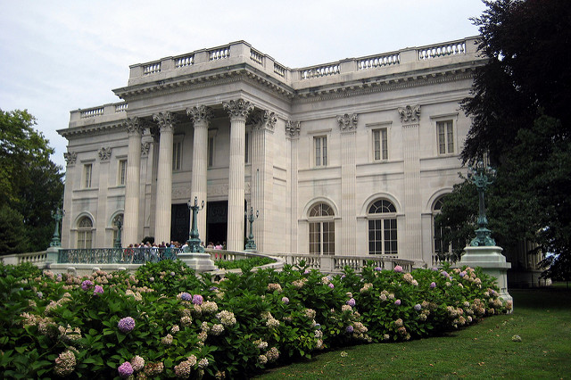 2. The Marble House: Another Vanderbilt property, this mansion was built in the late 1800s as a summer residence.