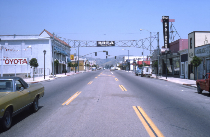 5. Here's a look at downtown Brea in 1975.