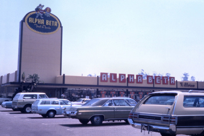 3. Do you remember Alpha Beta? Photographed in Santa Ana in 1974.