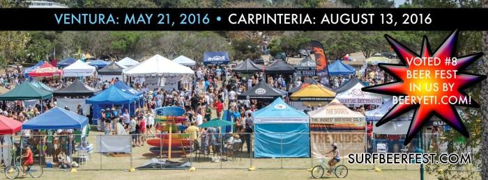 9. Surf 'n' Suds Beer Festival in Ventura and Carpinteria