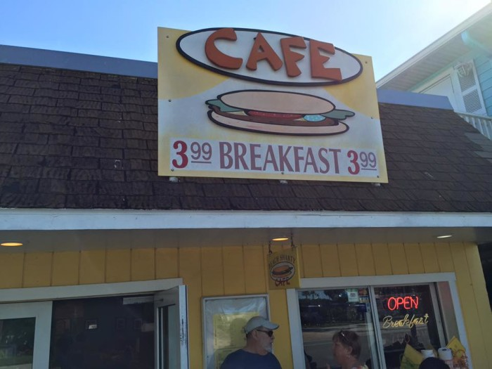 2. The Beach Shanty Cafe, Clearwater